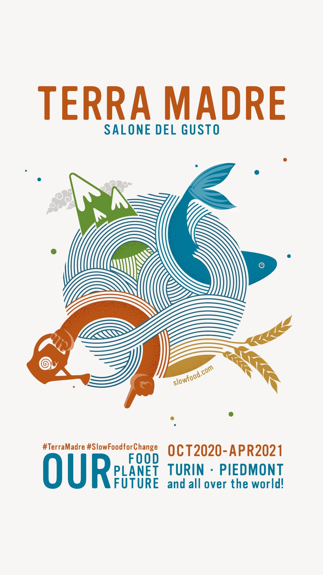Logo Terra Madre Salone del Gusto 2020-2021