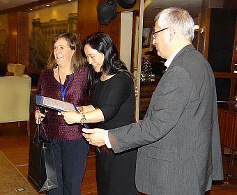 Maria D. Alvarez, Enrica Iannuzzi and Frank Go