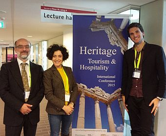 Lorenzo Cantoni, Silvia De Ascaniis and Emanuele Mele at HTHIC2015
